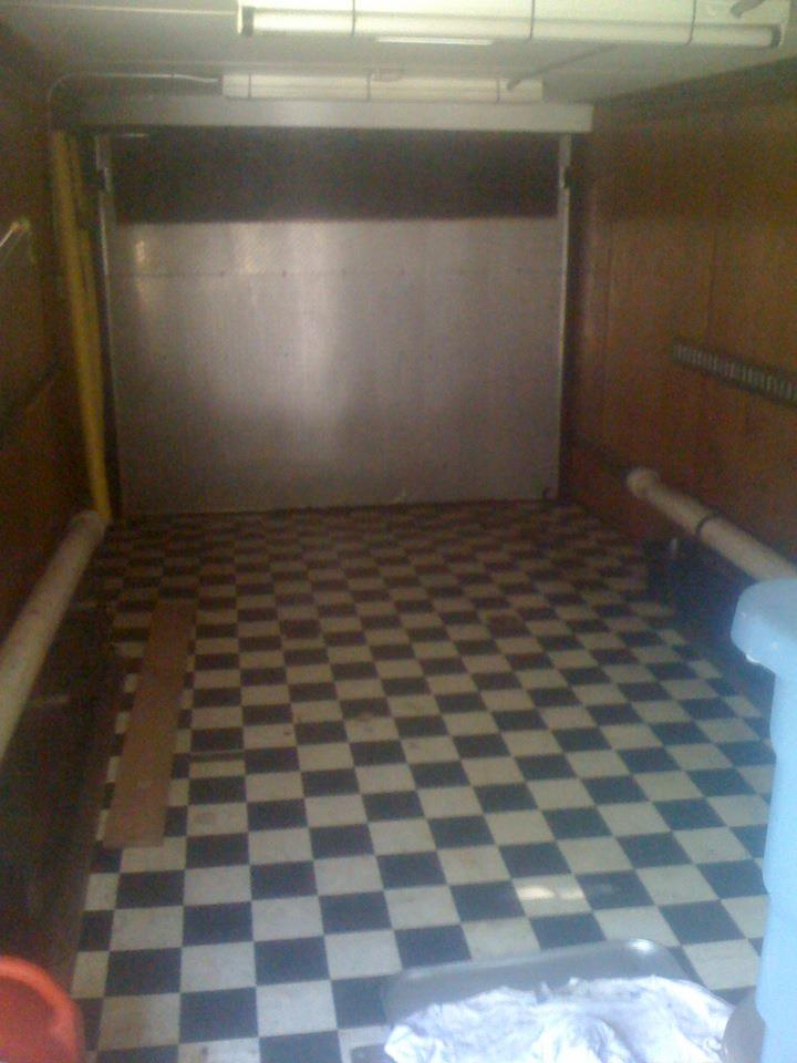 Trailer - Rear Interior view